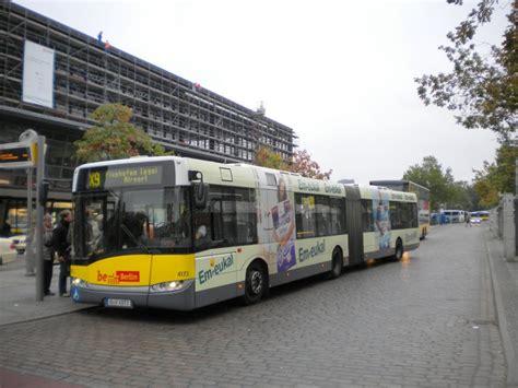 Solaris Urbino Auf Der Linie X9 Nach Flughafen Tegel Am S