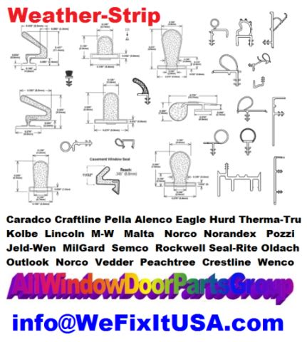 window weather strip bulb style profiles compression seal weatherstripping parts foam pile
