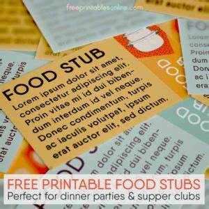 Free Drink Coupon Template Printable Tickets And Coupons Free Printables Online