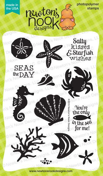 tranquil tides stamp summer scrapbook stamp set