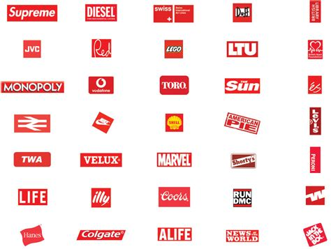 12 Best Photos Of Red Logos And Names