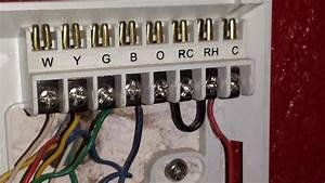 Thermostat Wiring  U0026 Trane Xe 80