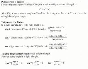 Section 7 5  Right-triangle Trigonometry - The Nature Of Mathematics