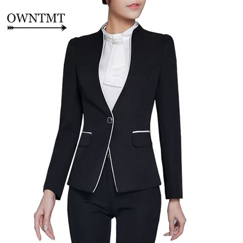 Gray Skirt Suit Women HOT Skirt Suits Spring Women Business Suits Formal Office Suits Work