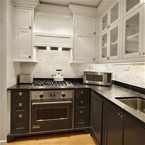 accessories for kitchen cabinets black and white marble floor transitional kitchen 3972