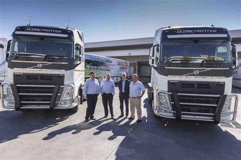 volvo truck range volvo trucks sa delivers first units of new range fleetwatch