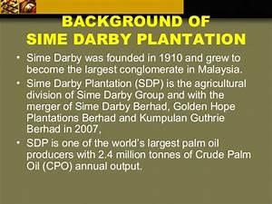 Sime Darby Organization Chart Sime Darby Plantation