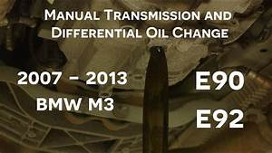 E90  E92 Bmw M3 Manual Transmission And Differential Oil
