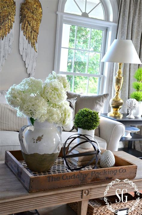 bhome summer open house  decorating coffee tables