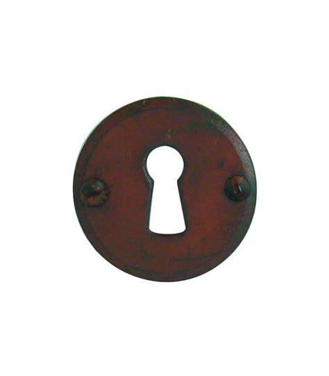 ensemble de poign 233 e de porte sur rosace provence trou serrure fer forg 233 rouill 233 et porcelaine de