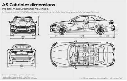 Audi Dimensions Cabriolet Cabrio