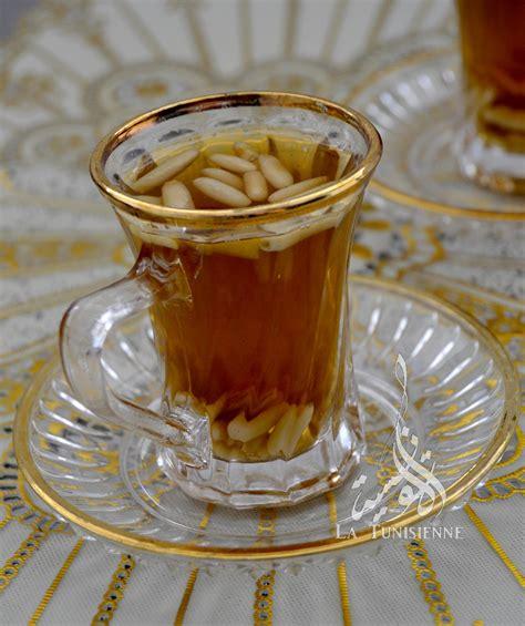 recette de cuisine midi en thé à la menthe et aux pignons
