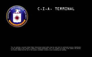 CIA Desktop Login Background