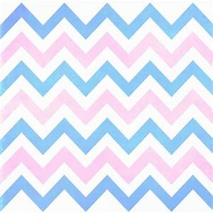 Blue and Pink Chevron | Blue pink Chevron Pattern Art ...