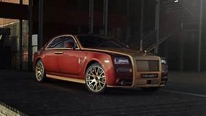 2017 Mansory Rolls Royce Ghost 4K Wallpapers HD