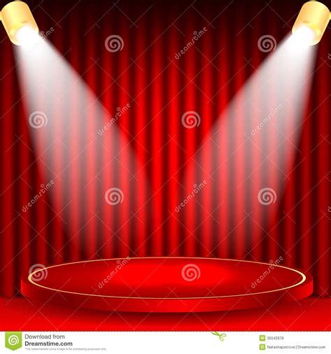 podium drape theatrical background stock vector image of l