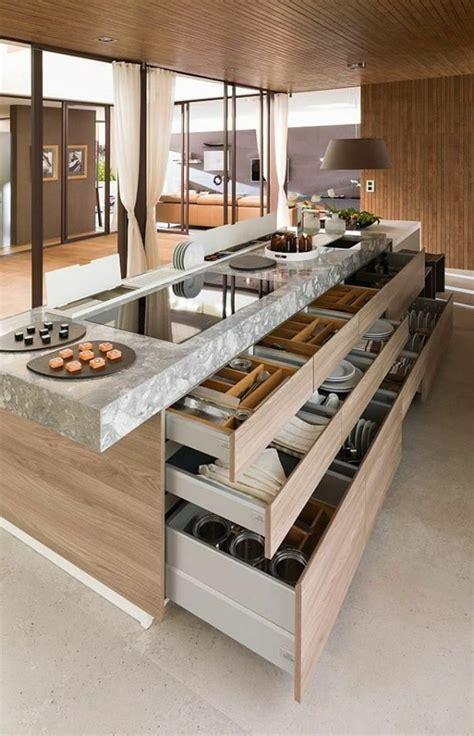 meilleures cuisines table haute ilot central 8 les 25 meilleures id233es