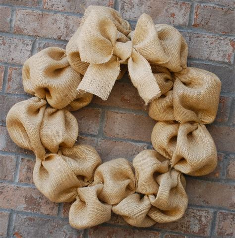 how to make a burlap wreath with two colors how to make a burlap wreath amanda brown