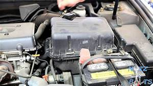 2001-2006 Toyota Camry Engine Air Filter Replacement