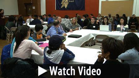 student leaders meet board education montgomery county public