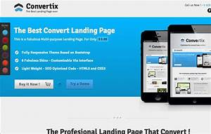 12 premium responsive landing page templates With jquery landing page templates