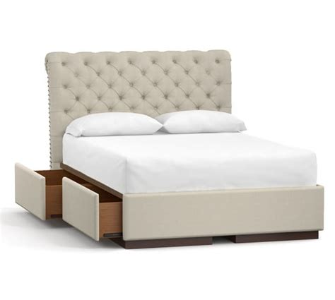 chesterfield storage bed pottery barn