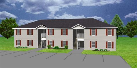6 unit apartment plan   Multi family   J0418 11 6