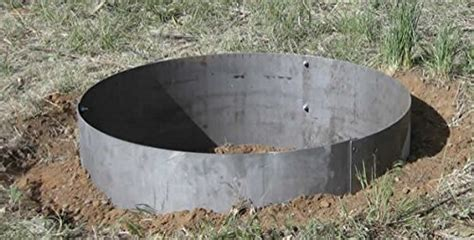 pit metal ring pit steel ring insert outdoor goods