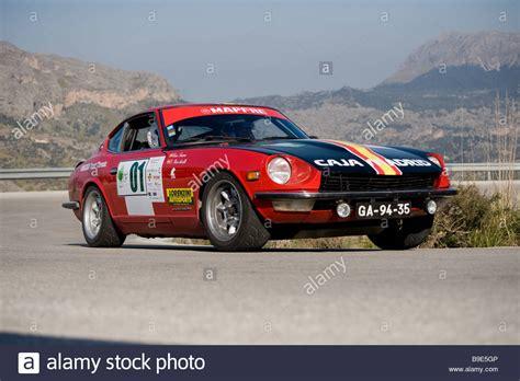 Datsun Rally by 1970 Datsun 240z Racing In The Classic Car Rally
