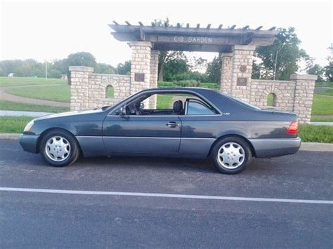 This is a beautiful example of german engineering and luxury made better by the limousine builder, picasso of new york. Sell used 1995 Mercedes Benz S600 V12 Coupe in Kansas City ...