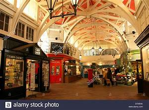 Oxford Covered Market, oxford, England Stock Photo ...