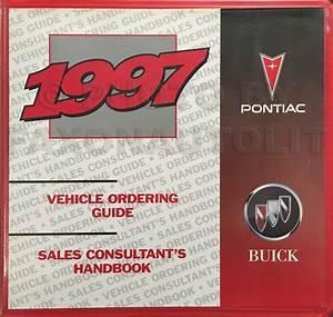 1997 Buick Park Avenue Repair Shop Manual Original 2