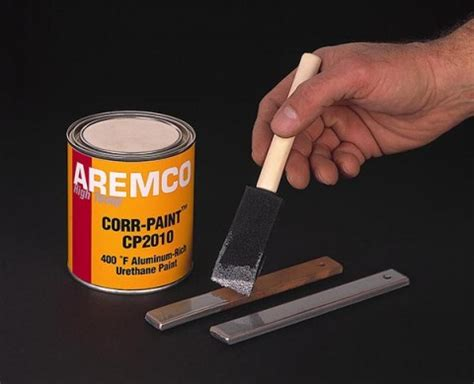 aremco  corr paint cp  high temp corrosion resistance