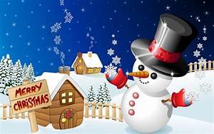 Christmas Snowman HD design wallpaper 11 - Holiday ...