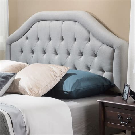 best fabric for tufted headboard diy fabric headboard tips for nice bedroom decoration