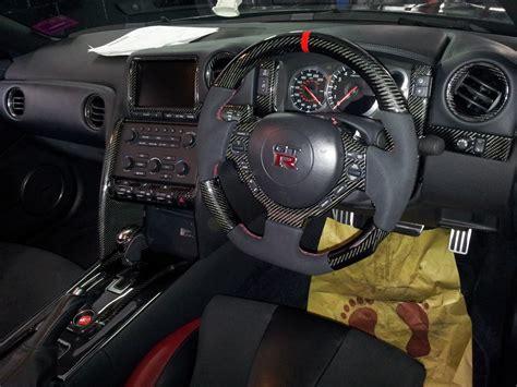 full nissan gtr carbon fibre interior
