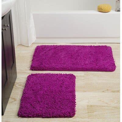 pink bath rugs mats youll love   wayfair