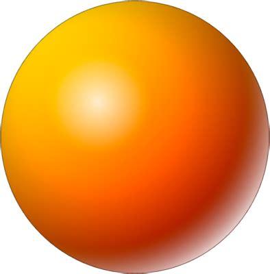 Free Yellow Sphere Psd Vector Graphic Vectorhqcom