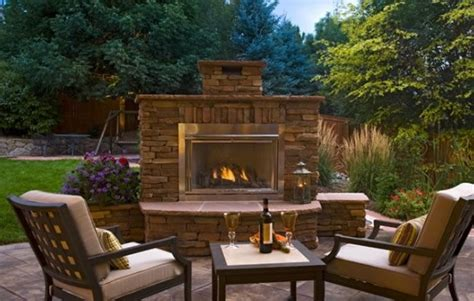 outdoor fireplace landscaping ideas outdoor fireplace parker co photo gallery landscaping network