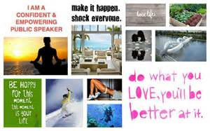 Law of Attraction Vision Board Examples