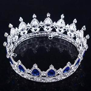 New Big European Royal Crown Gold Or Silver Plated
