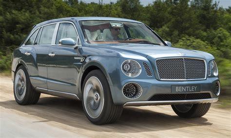 Visual Comparison Bentley Bentayga Vs Exp 9f Concept W