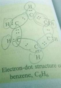 What Is The Electron Dot Structure Of Benzene C6h6