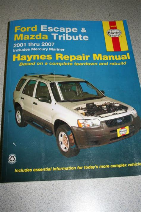online auto repair manual 2007 ford escape on board diagnostic system find ford escape mazda tribute 2001 2007 repair manual motorcycle in tahuya washington us