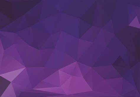 Free Purple Triangles Vector