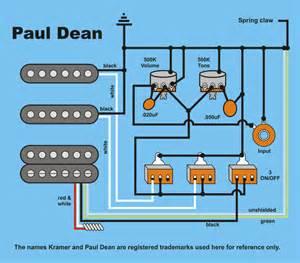 Kramer Guitar Wiring Diagrams