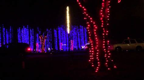 jellystone park christmas lights the dancing lights of christmas at jellystone park youtube