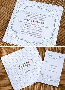 sweet wedding invitations from poppiseed designs polka With wedding invitations polka dot design