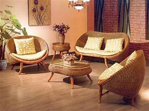 Wicker living room chairs design mapo house and cafeteria for Cane furniture for living room