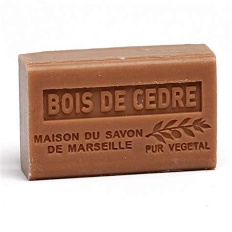 soap cedar wood shea butter 125 g maison du savon de marseille
